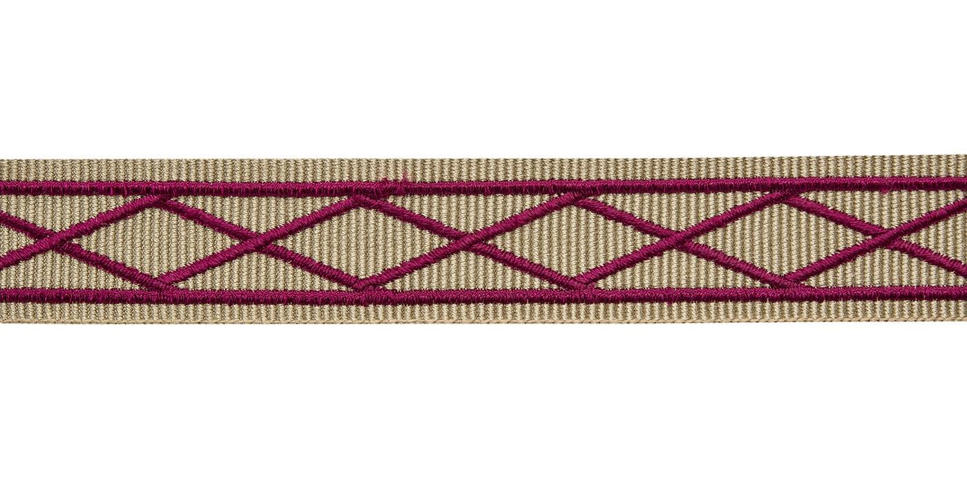 dây viền thêu 23mm - trang trí màn rèm, sofa, gối, khăn