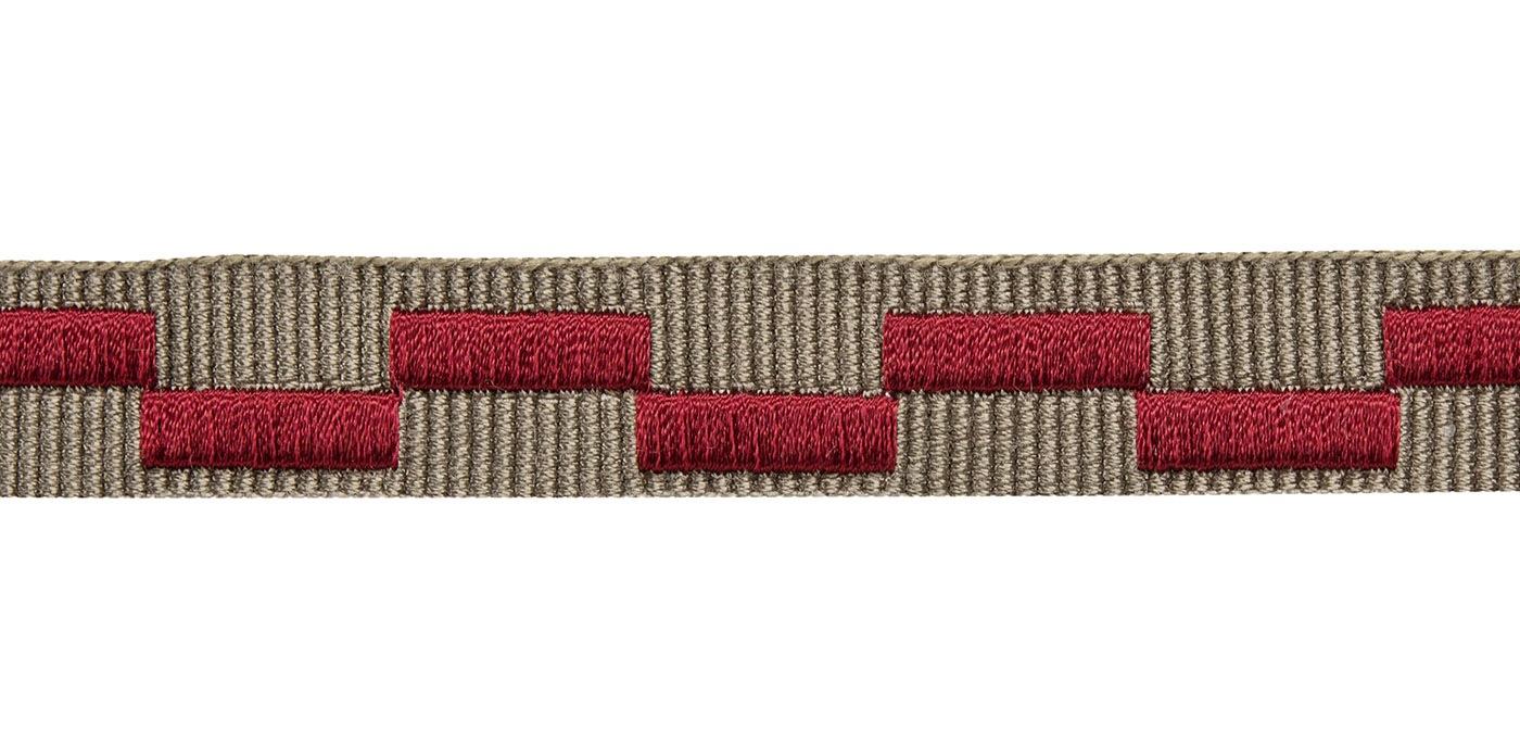 dây viền thêu 14mm - trang trí màn rèm, sofa, gối, khăn